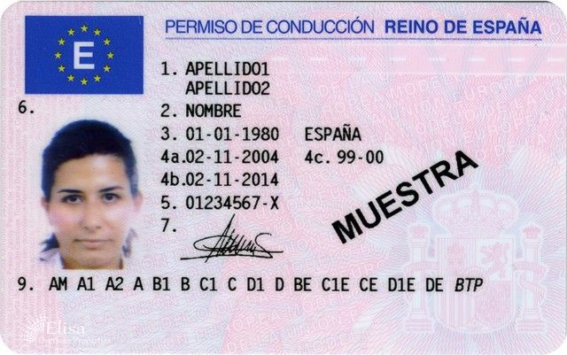 online-Spanish-Driving-license